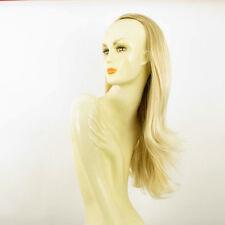 Media cabeza,demi-perruque 62cm rubio dorado con mechas muy claro 013 en 24bt613