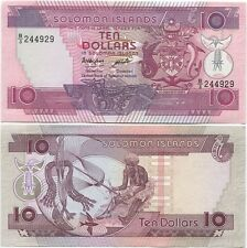 Solomon Islands 10 Dollars 1986 UNC P-15