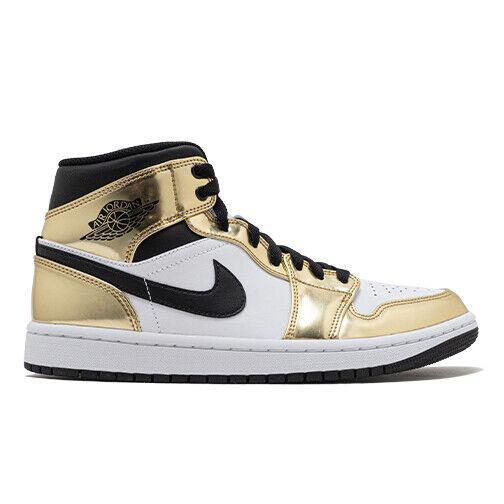 Size 13 - Jordan 1 Mid SE Metallic Gold 2020 for sale online | eBay