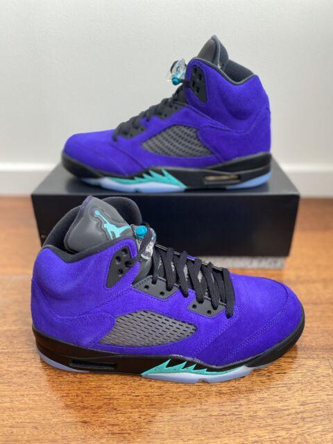 Nike Air Jordan 5 Retro - Mens US 12/UK 11 - Alternate Grape