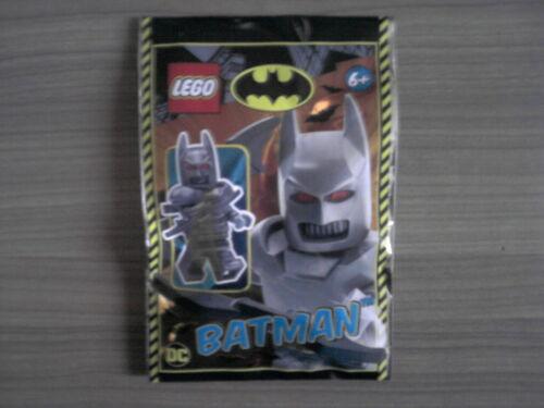 LEGO BATMAN DC Minifigur BATMAN mit Rüstung und Batarangs NEU OVP TOP Mini Figur