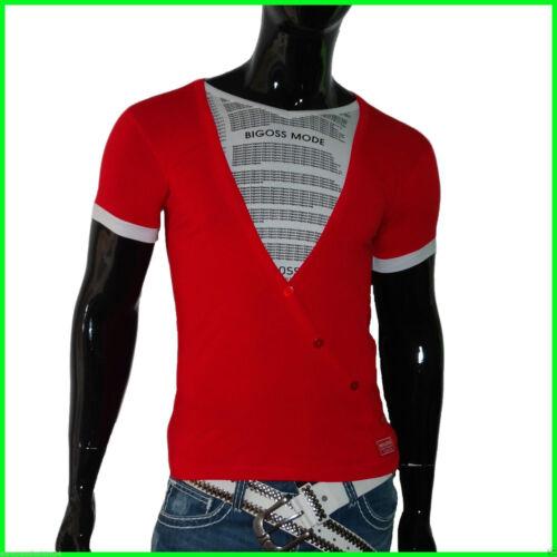 NUOVO POLO T-Shirt Uomo Ragazzi Camicia A Maniche Corte T-SHIRTS TAGLIA S M L XL XXL bigoss