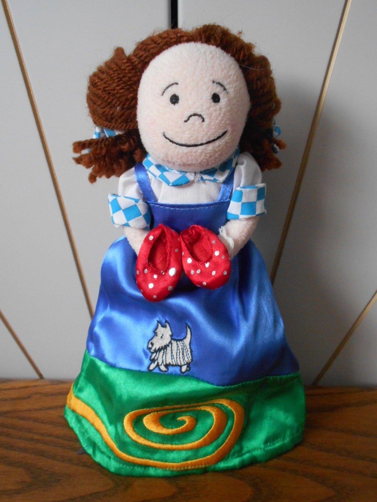 FAIRYTALE FOLK DgoldTHY Topsy Turvy Doll JELLY CAT Jellycat J569 WIZARD OF OZ