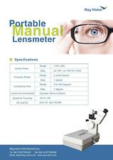Portable Manual Lensmeter Njc 1 Focimeter Lensometer Optometry Optic Machine