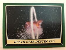 Star Wars Rogue One Mission Briefing #67 Death Star Destroyed GREEN NrMint-Mint