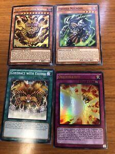The Legendary Exodia Incarnate Obliterate ~ Ultra Rare ~ Forbidden One YuGiOh