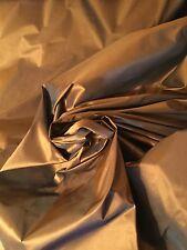 "11 yd x 59"" FABRICUT ""Topaz"" Chestnut Drapery Fabric Like Silk! $900 Retail!"