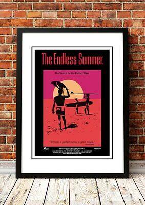 ENDLESS SUMMER Surf Movie Poster 1966 Available Framed or Unframed