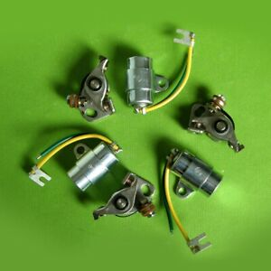 1972-75-Kawasaki-Condenser-amp-Contact-Points-Kit-tune-up-s1-s2-s3-kh250-kh-250