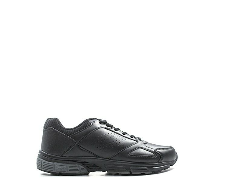 shoes LOTTO men black PU,Tessuto T6113