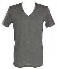 T-shirt intimo V seta lana cot JULIPET a.600948 taglia 4/L c.135M GRIGIO