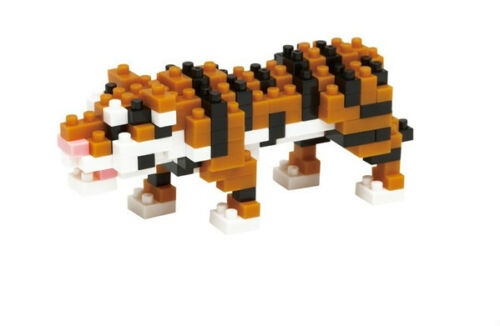 japan building toy block NBC_104 Kawada Nanoblock Mini Bengal Tiger NEW