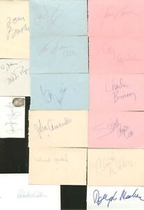 THE-DIRTY-DOZEN-18-Main-Cast-Signatures-SIGNED-AUTOGRAPHS