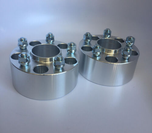 4pcs 3 Inch Hubcentric Wheel Spacers 5X114.3 5X4.51//2 RH Thread75mm Thick