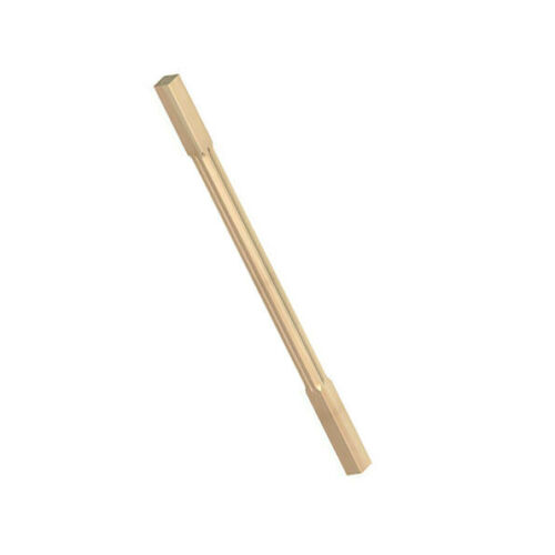 PACK OF 10 x CHAMFERED WOODEN FLUTED DECKING SPINDLES 40mm x 40mm x 895mm WOOD