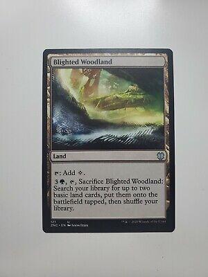 MTG Magic Blighted Woodland Commander Zendikar Rising NM