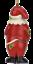Tree-Buddees-Zombie-Santa-Claus-Christmas-Glass-Ornament-Funny-Xmas-Decoration thumbnail 6