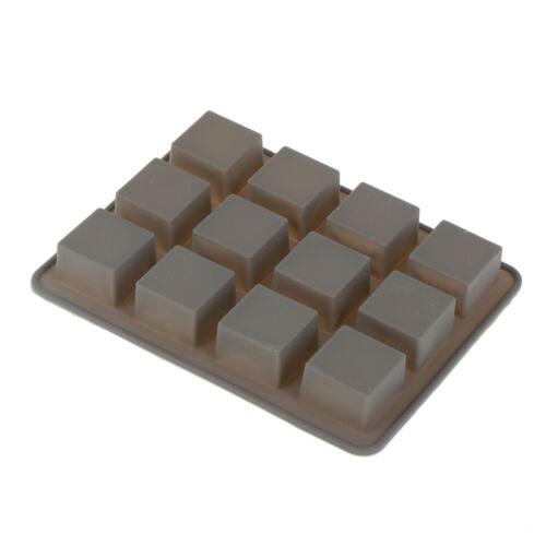 Stampo in silicone per sapone quadrato Stampo fatto a mano con torta fai daKTP