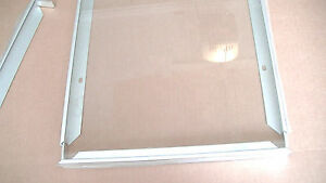 Solar Panel Glass and Frame for building a quality solar panel. 13.5 x 19.5 inch