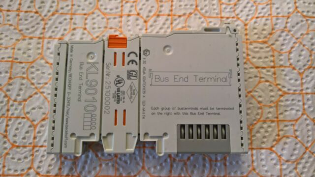 Beckhoff KL 9010 kl9010 autobús End Terminal
