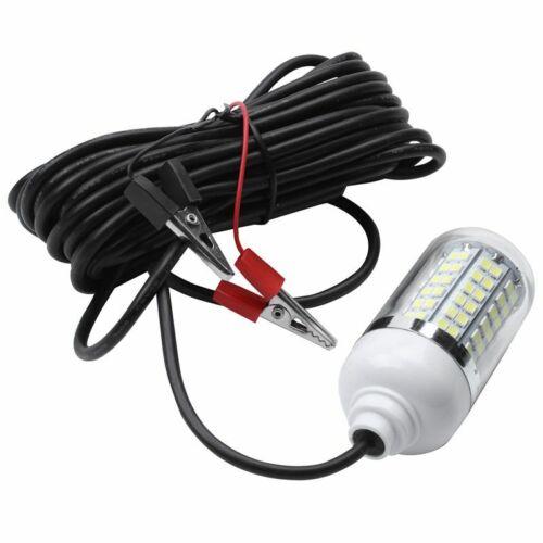 12 V 15 Watt Angeln Licht 108 Stk 2835 LED Unterwasser Fischen Licht Lockt L9M2