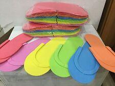 76e5217b4713 360 pairs Disposable foam pedicure spa flip flop slipper 6 assorted color