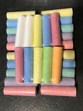 Pack Of 52 Giant Chalks Artbox Pavement Games Child Creative Fun Crosses Outdoor