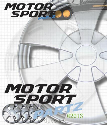 "4pcs Set 14 inch Rim Wheel Skin Cover Hubcap Style 717 Hub caps 14/"" Inches"