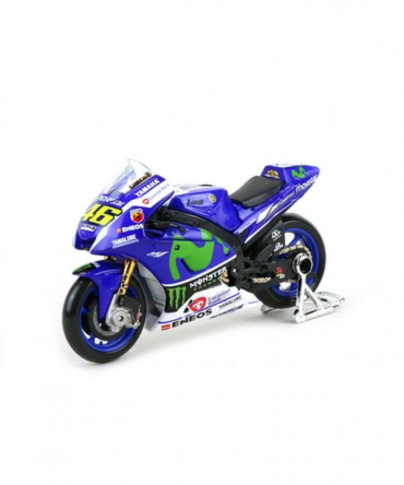 New Maisto 1 18 movistar YAMAHA YZR-M1 46 V.Rossi motoGP 2016 from Japan