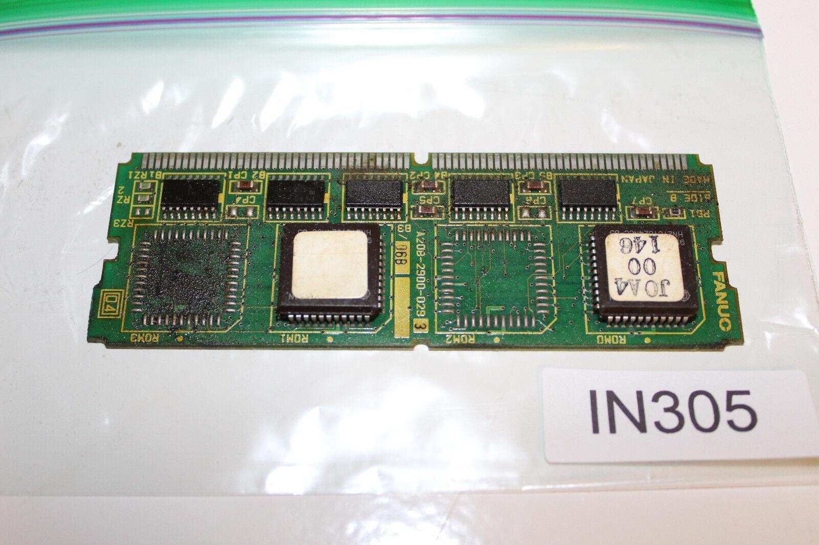 Fanuc A20B-2900-0293 Control Board A20B-2900-029 IN305