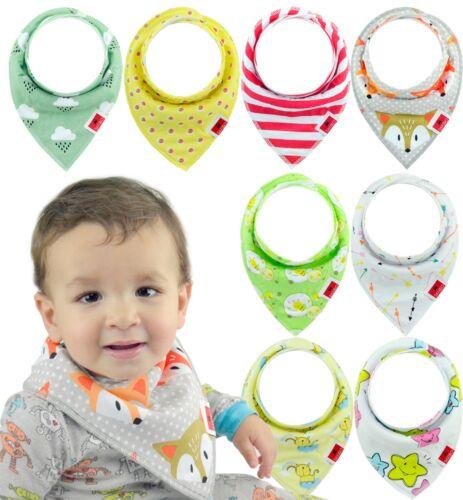 Baby Bandana Drool Bibs for Boys /& Girls Unisex 8-Pack Gift Set 100/% Organic