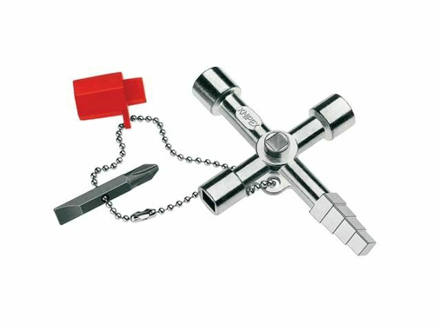 Knipex - 11-Wege-Gehäuseschlüssel für den Profi-Key