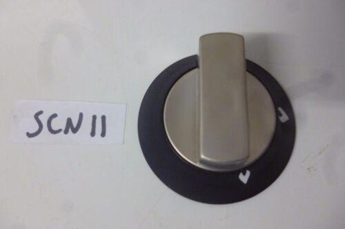 Spinflo caravan motorhome Enigma oven hob satin silver gas control knob SCN11