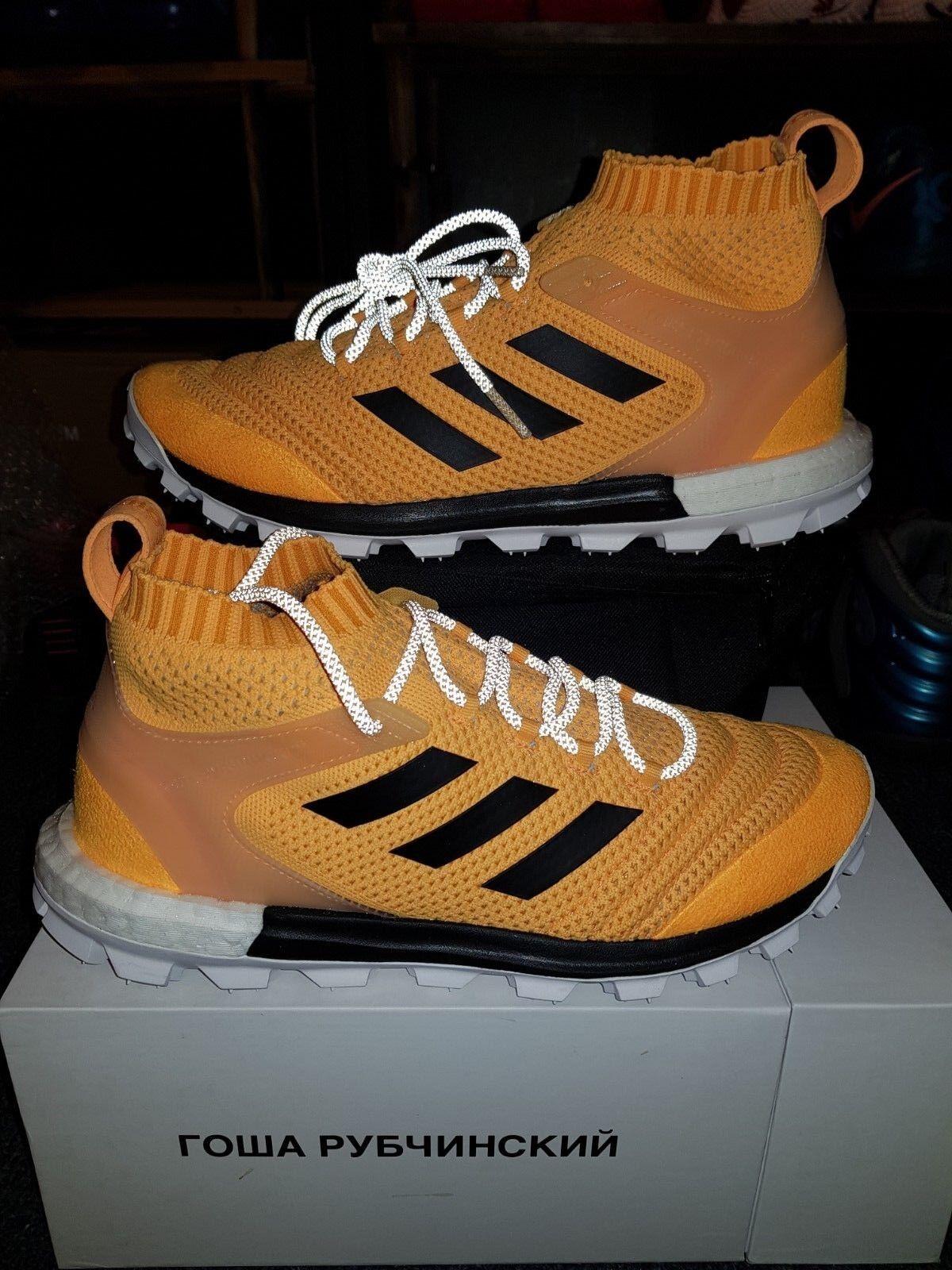 GOSHA RUBCHINSKIY pk x Adidas Copa PrimeKnit pk RUBCHINSKIY Amarillo Naranja BoostSZ 9 US 071d00