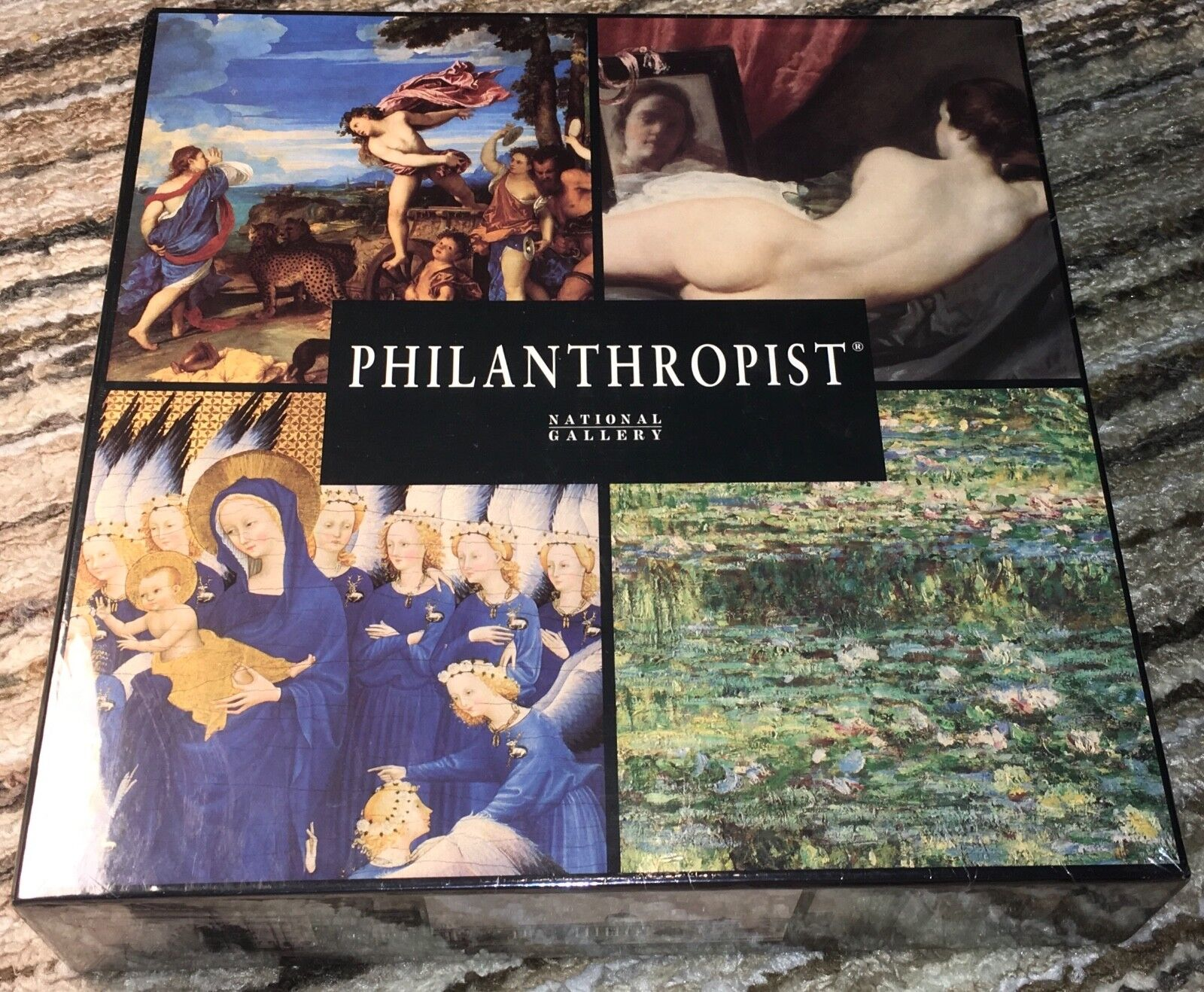New Sealed Philanthropist The National Gallery, London Board Game Complete 1999