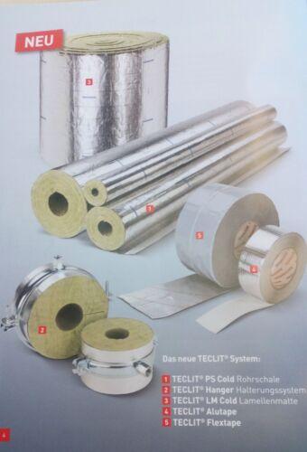 Rockwool TECLIT Flextape Dichtband Kältedämmung Rohrleitungen