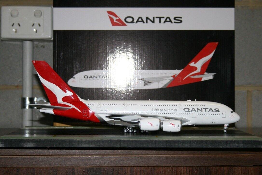 Gemini Jets 1 200 Qantas Airbus A380-800 VH-OQF  New  (G2QFA748) Model Plane