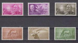 SAHARA-SPAIN-ANO-1955-NUEVO-SIN-FIJASELLOS-COMPLETO-MNH-EDIFIL-120-25