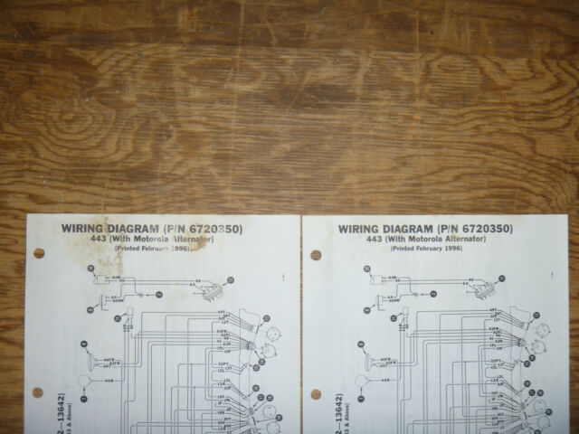 Bobcat 443 Skid Steer Electrical Wiring Diagram Schematic