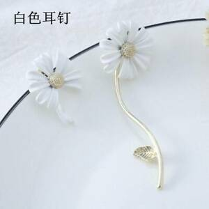 Fashion Sunflower Long Earrings Drop Dangle Ear Stud Flowe Women Jewellery Gift
