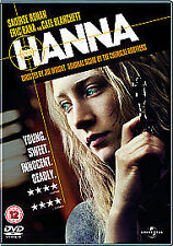 Hanna [DVD], Very Good DVD, Eric Bana, Cate Blanchett, Saoirse Ronan, Joe Wright