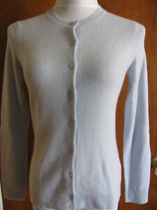 taglia donna Heather Xsmall Nwt Sky in cashmere Bloomingdale di Cardigan OfP1Uqn