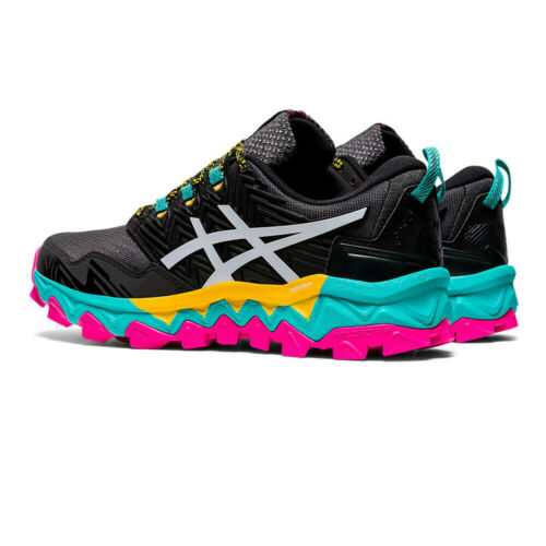 Asics Womens Gel-FujiTrabuco 8 Trail Running Shoes Trainers Sneakers Black