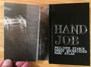 HAND-JOB-Furniture-by-Philippe-Stark-2001-Miniature-Book
