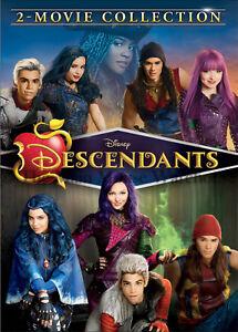 Disney-Channel-Movie-Musicals-Descendants-1-amp-2-Together-on-DVD-Kids-of-Villains