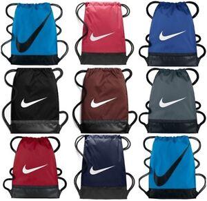 Image Is Loading Nike Brasilia Gymsack Gym Bag Training Football Sports