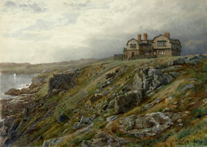 Image Is Loading Graycliff The Artist 039 S Home William Trost