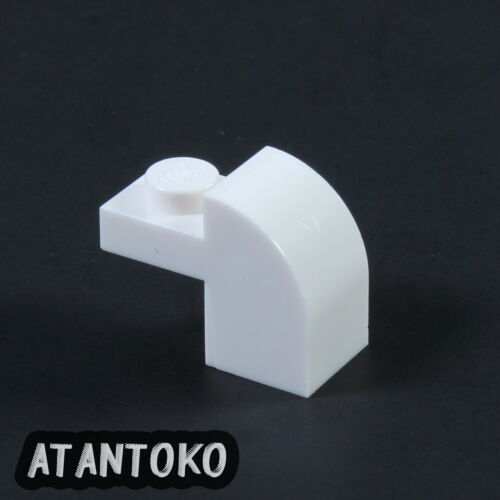 - LEGO White Brick 1x2x1 50 to 500 Pieces Curved Top