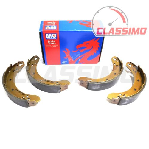 Quinton Hazell Rear Brake Shoes set of 4 for FORD CORTINA MK 1-1962 to 1966