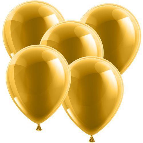 Luftballons - Rundballons ø 30cm Gold - Glänzend | Vielfalt  | Exquisite (mittlere) Verarbeitung